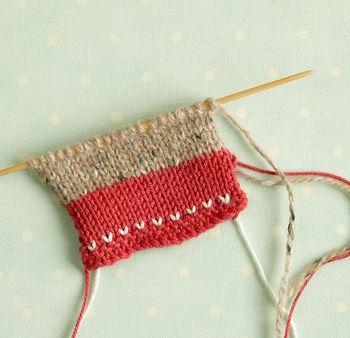 Finish knitting
