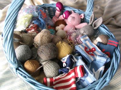 Messy basket