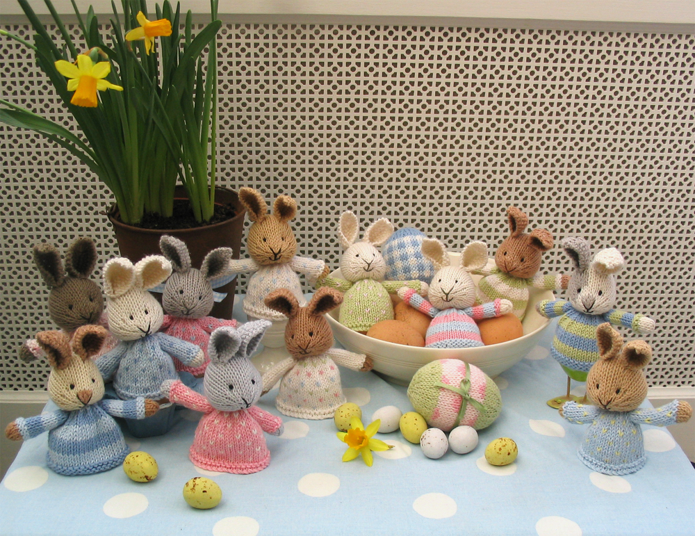 Little Cotton Rabbits Easter Egg Cosies