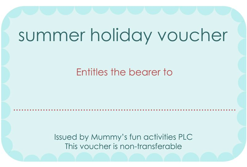 Summerholidayvouchers