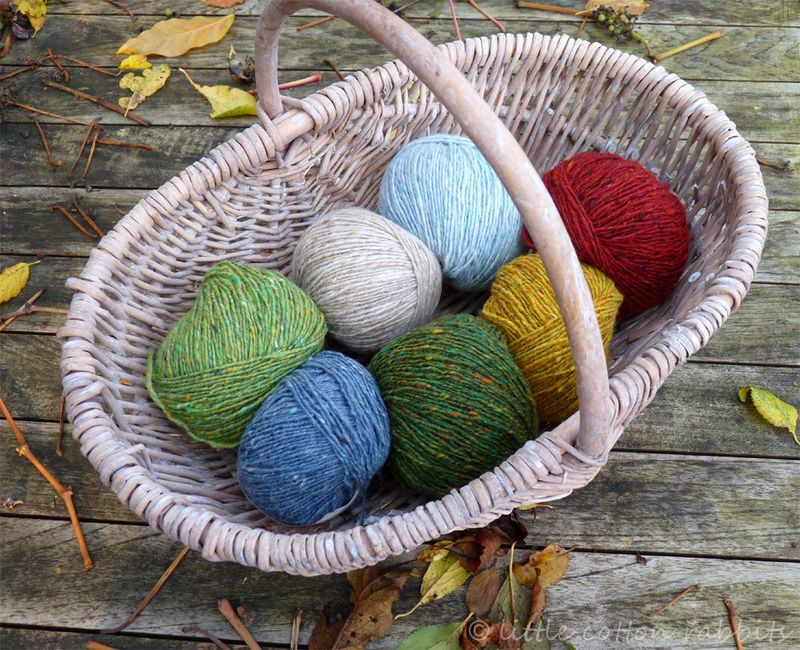 Little flowers yarn