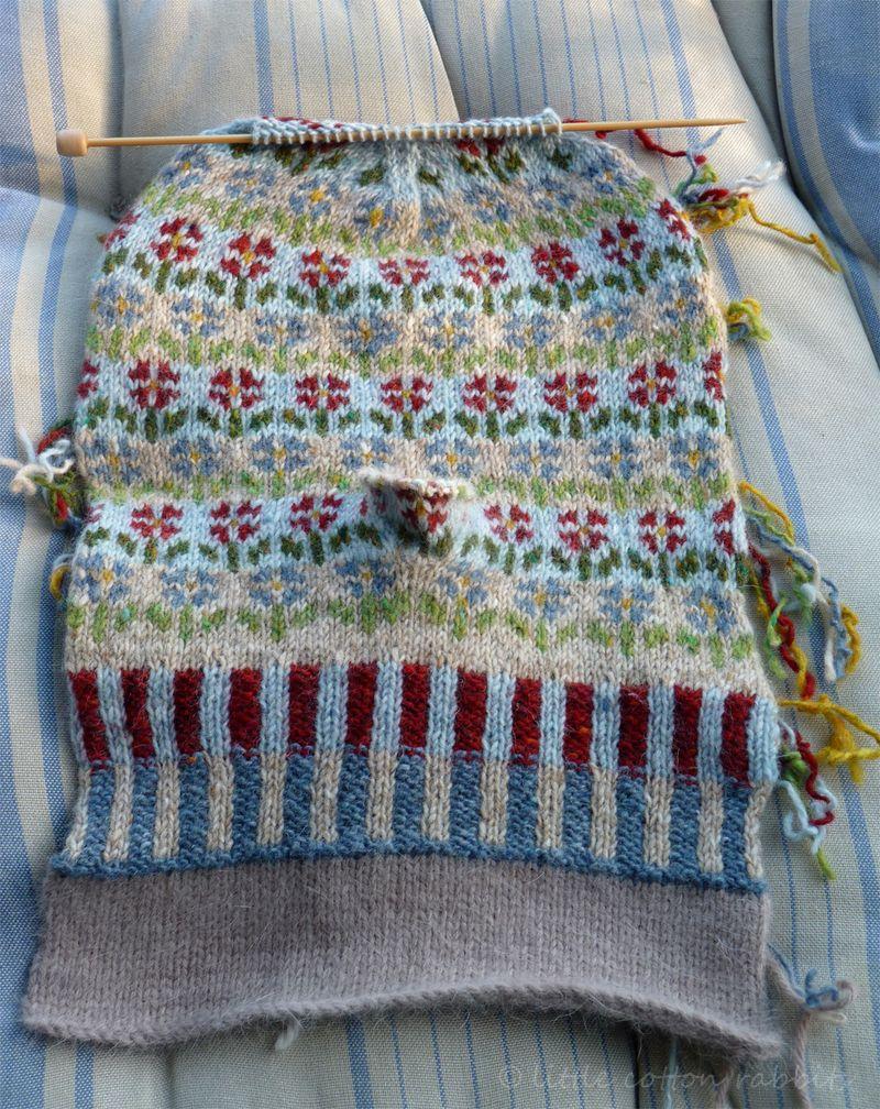 Flower mitts