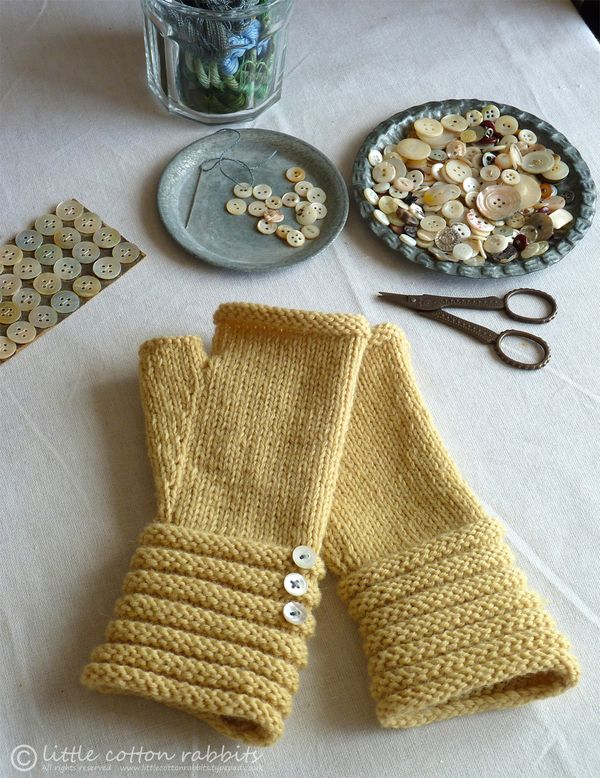 Little Cotton Rabbits: Midsummers day mittens