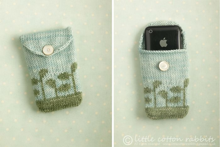 Knitted Pouches
