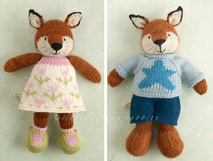 Little Cotton Rabbits Knitting And Catching Up