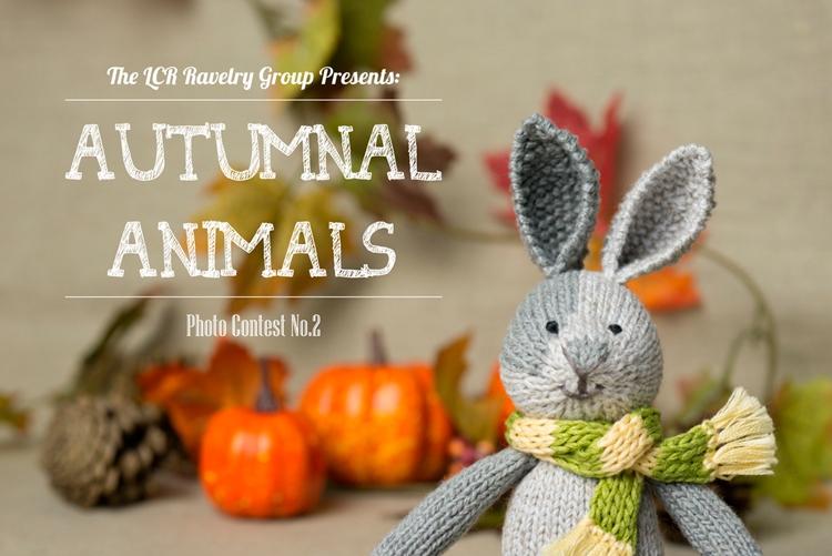 autumnal animals poster