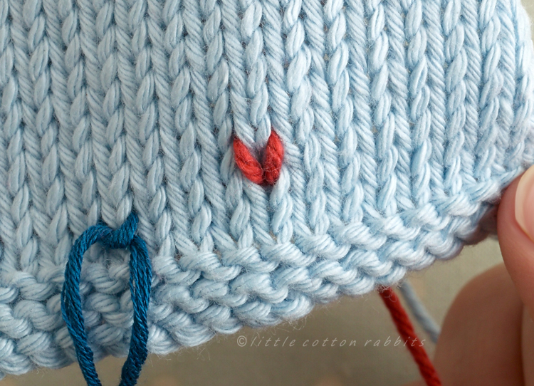 One stitch