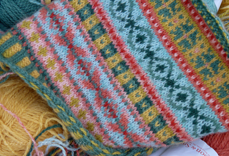Little Cotton Rabbits: Lurgies and Fair Isle