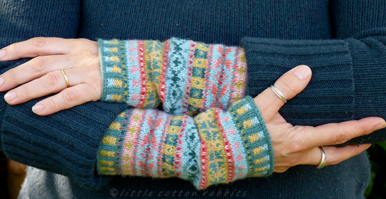 Little Cotton Rabbits Fair Isle Cuffs