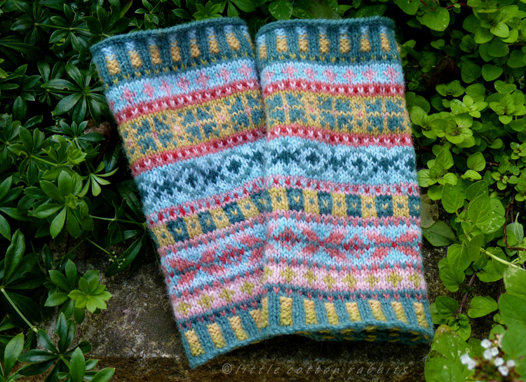 Little Cotton Rabbits: Fair Isle cuffs