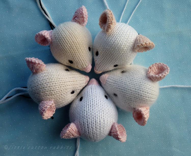Mice heads