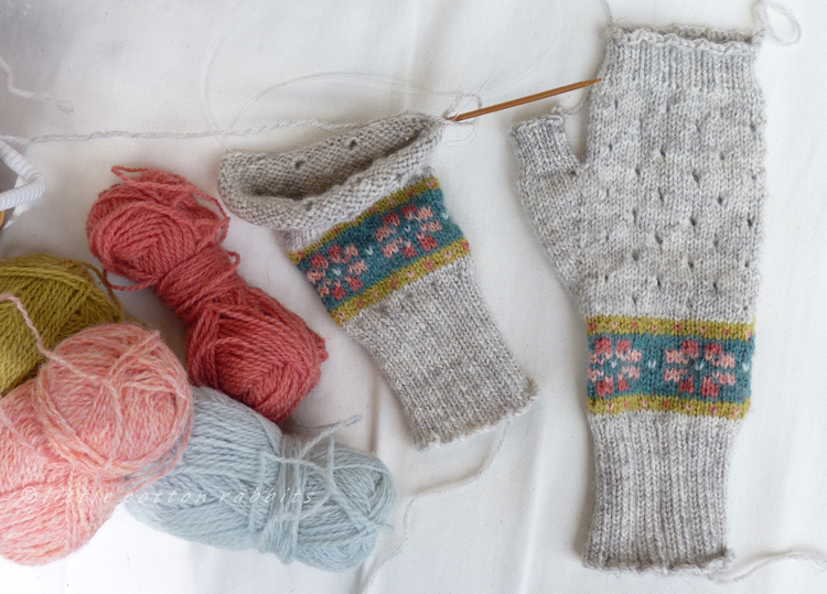 Summer mittens