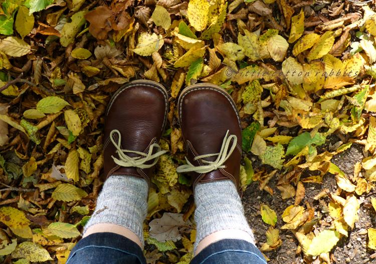 Crunchy underfoot
