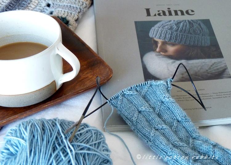 Morningknitting