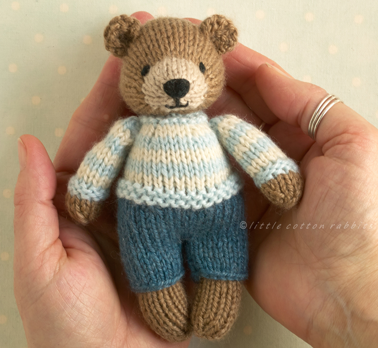 Mini boy bear