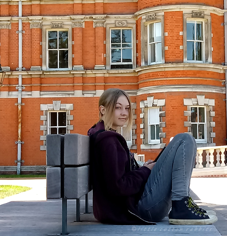 Amy at uni