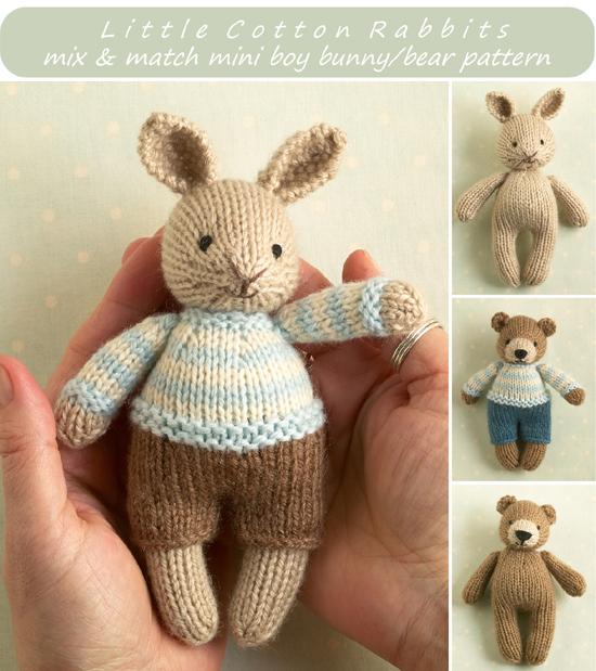 Mini bunny bou