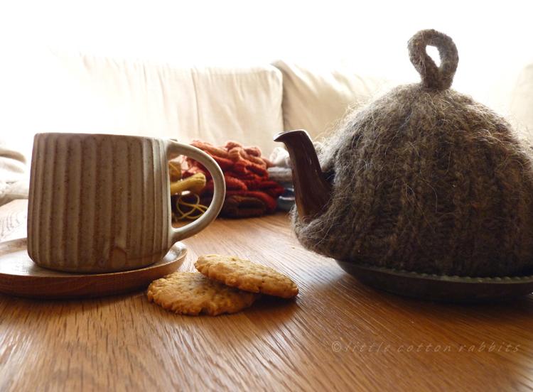 Tea and knitting