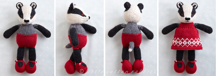 Dress badger