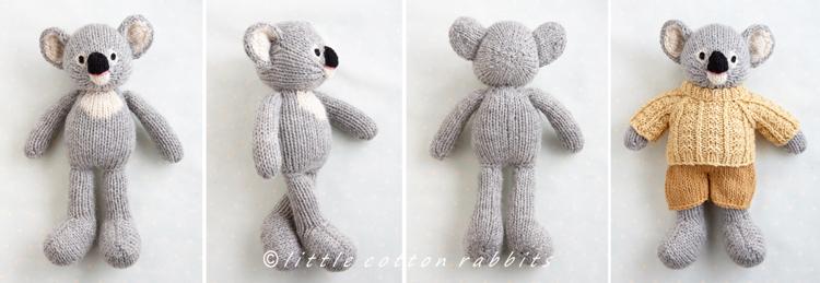 Koala in a sweater
