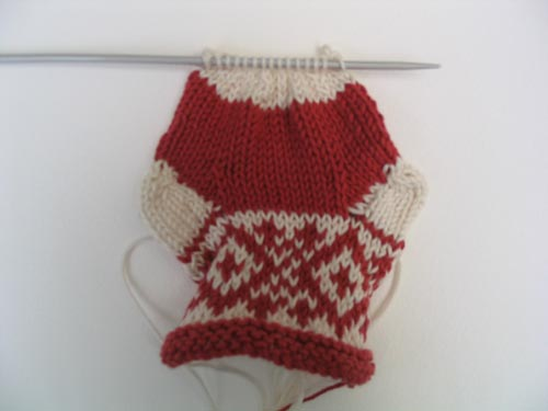 free mini christmas stocking pattern: Step_6