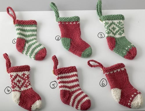 Free Mini Christmas Stocking Pattern Stocking Pattern